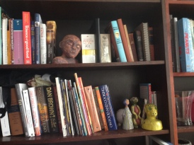 the MAN of the house on the TOP SHELF